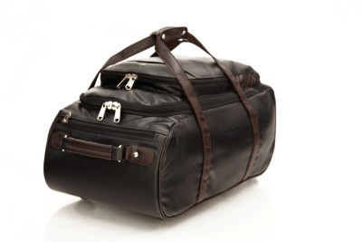 Mboss Multi Use Faux leather Unisex Black Small Travel Bag   Medium Black Mboss Small Travel Bags