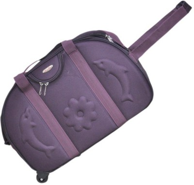 Pride Star Air Duffel Strolley Bag Purple