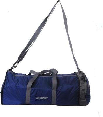 Wildcraft Pravas Blue 10 inch/25 cm (Expandable) Travel Duffel Bag(Blue)