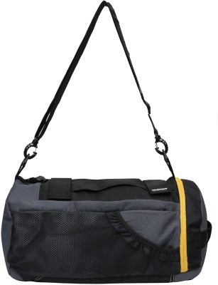 Gear 18 inch/45 cm New Maxis Duffel Cum Backpack Travel Duffel Bag Grey, Yellow Gear Duffel Bags