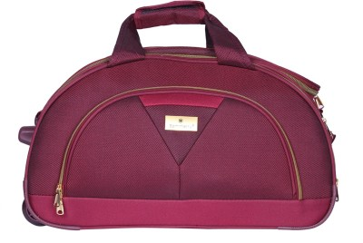 sammerry Sammerry Red Cabin Duffel Bag-Small Duffel Strolley Bag(Red)