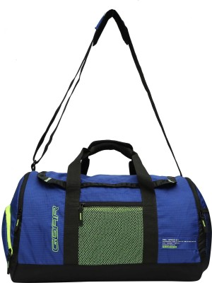 1066a270d2a9 Gear 17 inch 43 cm METRO PRO SPEED DUFFEL ROYAL BLUE- GREEN Travel Duffel  Bag(Blue)