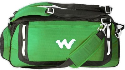 Wildcraft 20 inch/50 cm 8903338049654 Travel Duffel Bag(Green) at flipkart