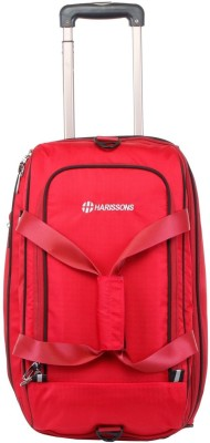 Harissons 20 inch/52 cm  Expandable  D Lite Expander Trolley Duffel Strolley Bag Red