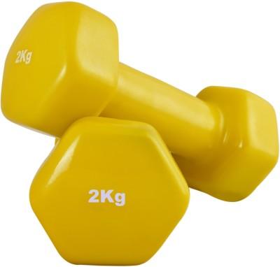 SportSoul VINYL Fixed Weight Dumbbell(4 Kg)