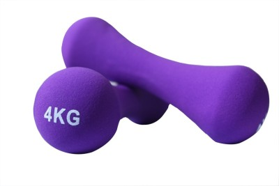 B FIT USA Neoprene Fixed Weight Dumbbell(4 kg)