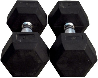 Tima Hexa Dumbbells 3kg Fixed Weight Dumbbell(3 kg)