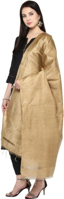 Dupatta Bazaar Silk Cotton Blend Solid Women Dupatta at flipkart
