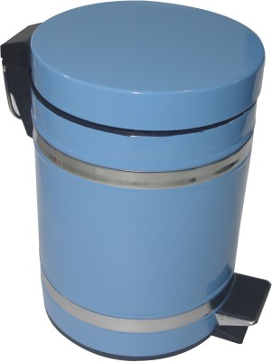 Gran Stainless Steel Dustbin(Blue)