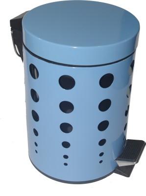 Gran Stainless Steel Dustbin(Blue)