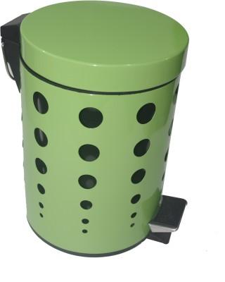 Gran Stainless Steel Dustbin(Green)