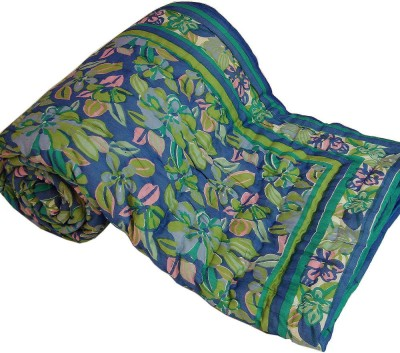 Little India Floral Double Quilts & Comforters Multicolor(Quilt)