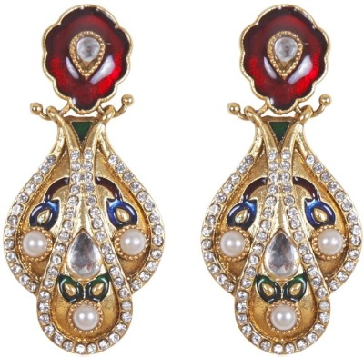 Rajwada Arts Brass Drops & Danglers at flipkart