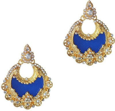 Styylo Fashion Bollywood Style Zircon Alloy Chandbali Earring at flipkart