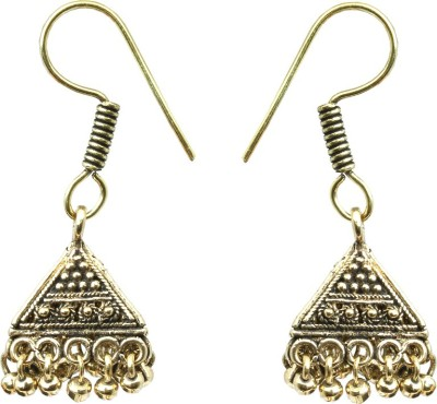 Waama Jewels gold Fashion Jewellery For Women Daily Wear Gift Fashion Jewellery to Girlfriend Brass Jhumki Earring Waama Jewels Earrings