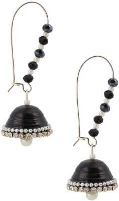 Halowishes Hancrafted Artificial Kidney Hook Jhumka Paper Hoop Earring  available at flipkart for Rs.289