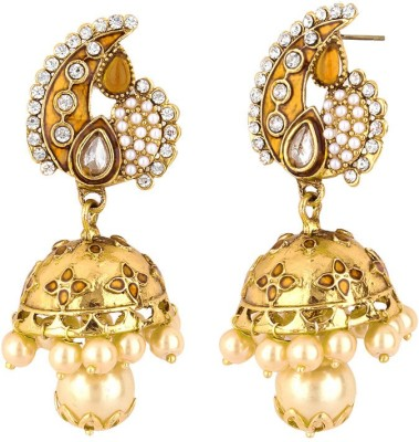 Styylo Fashion Bollywood Fashion Zircon Alloy Jhumki Earring at flipkart