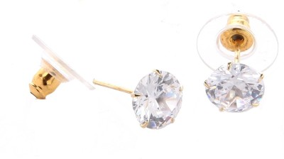 GoldNera Austrian Diamond Solitaire Alloy Stud Earring GoldNera Earrings