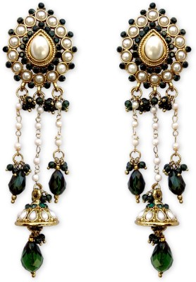 Hi Look Crystal Alloy Drop Earring  available at flipkart for Rs.235