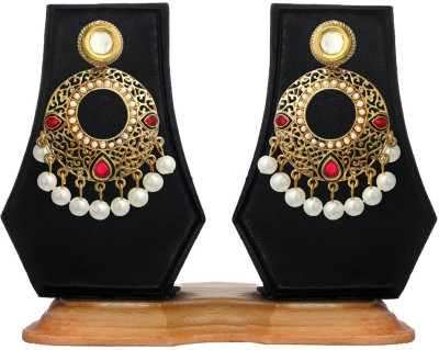 Zaveri Pearls Classic Indian Alloy Drop Earring at flipkart