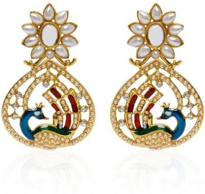 Penny Jewels Cubic Zirconia Alloy Chandbali Earring Penny Jewels Earrings