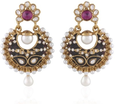 I Jewels Ramleela Alloy Chandbali Earring  available at flipkart for Rs.263
