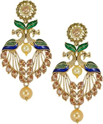 Zaveri Pearls Beautiful Zinc Drop Earring at flipkart