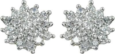 Zaveri Pearls Unique Brass Stud Earring at flipkart