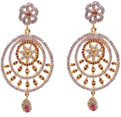 Rejewel Rejewel AD Long Earrings Alloy Drops & Danglers at flipkart