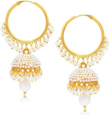 STYYLO FASHION diva style Pearl Copper Jhumki Earring STYYLO FASHION Earrings