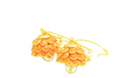 RBS Pearl Alloy Drops   Danglers RBS Earrings