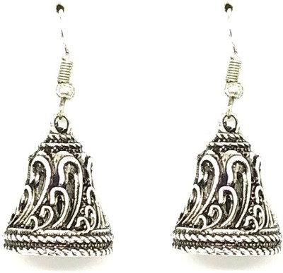 GoldNera Antique Designer Alloy Jhumki Earring GoldNera Earrings