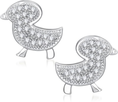 VK Jewels Baby Bird Cubic Zirconia Alloy Stud Earring at flipkart