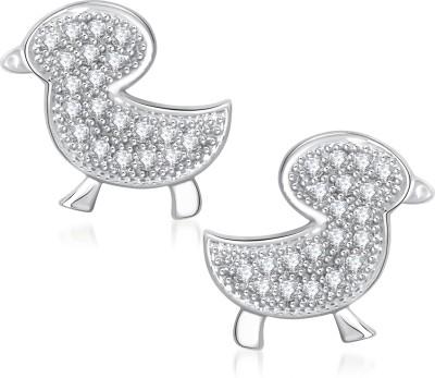 VK Jewels Baby Bird Cubic Zirconia Alloy Stud Earring at flipkart
