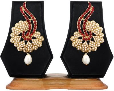 Zaveri Pearls Exotic Designer Zinc Dangle Earring at flipkart