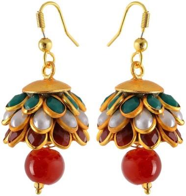 Waama Jewels Wedding jewellery Women Gift Girl in Party Brass Jhumki Earring Waama Jewels Earrings