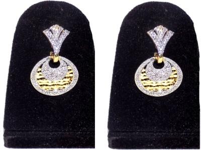 Jewels Kafe American Diamond Cubic Zirconia Alloy Drops & Danglers at flipkart