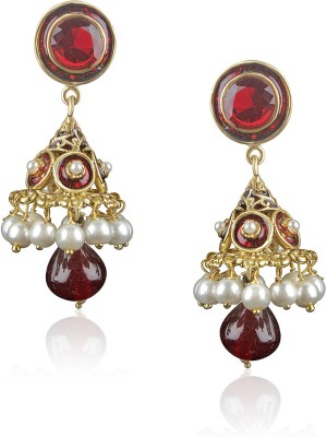 VK Jewels Brass Jhumki Earring at flipkart