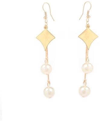 GoldNera Diamond Design Alloy Tassel Earring GoldNera Earrings