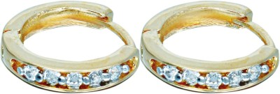 Affinity Jewellers Beautiful Zircon Alloy Hoop Earring Affinity Jewellers Earrings