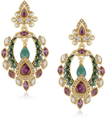 VK Jewels Brass Drop Earring at flipkart
