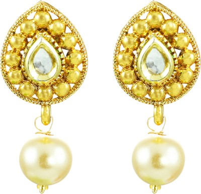Zaveri Pearls Lavishing style Zinc Drop Earring at flipkart