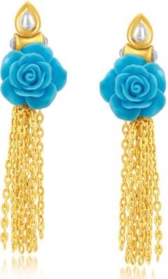 Sukkhi Glittery Alloy Drop Earring at flipkart