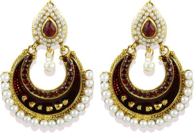 Zaveri Pearls Adorable Sparkling Zinc Chandelier Earring at flipkart