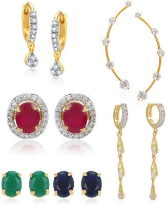 Jewels Gehna Beads Alloy Earring Set at flipkart