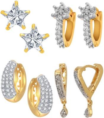 Jewels Galaxy NDV 16985 Alloy Earring Set Jewels Galaxy Earrings
