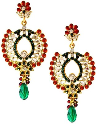 Being Women Kundan with stone studded Fashion Alloy Drop Earring  available at flipkart for Rs.999