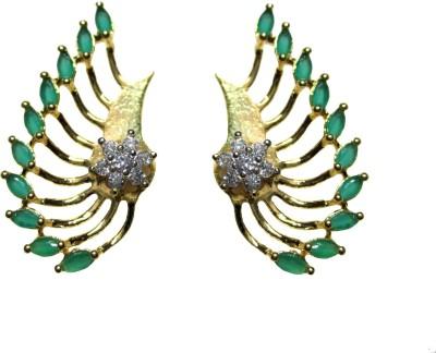 Poddar Jewels Designer Cubic Zirconia Alloy Cuff Earring Poddar Jewels Earrings