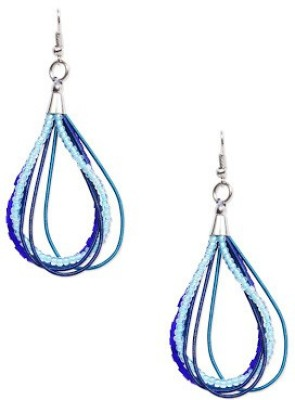 Ayesha Contempary Glass Drop earring  available at flipkart for Rs.72