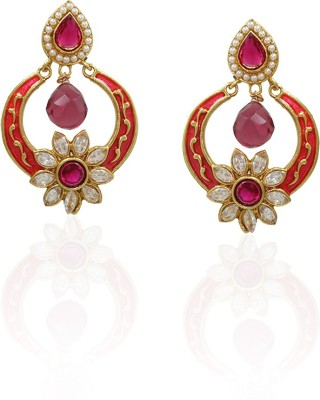 Frabjous Crescent Alloy Dangle Earring